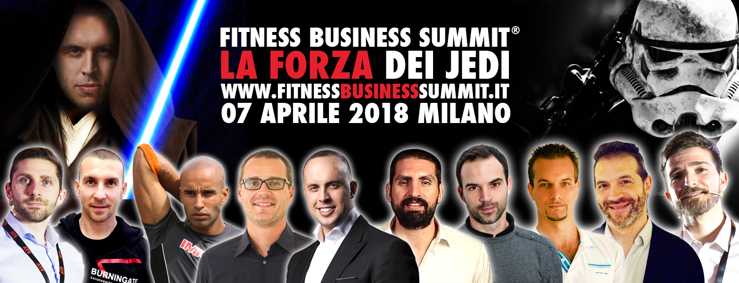 Fitness Business Summit - 7 Aprile 2018 - Milano